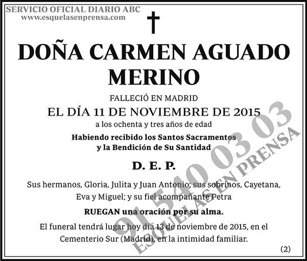 Carmen Aguado Merino